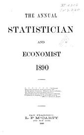 The Annual Statistician and Economist: Volume 14, Part 1890