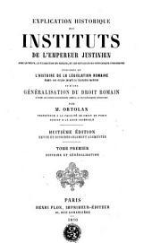 Histoire et généralisation