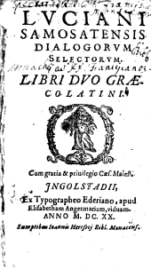 Dialogorum selectorum libri duo Graecolatini