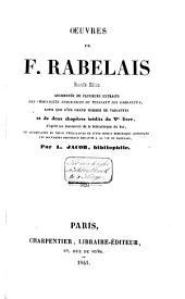 Oeuvres de F. Rabelais