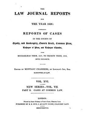 The Law Journal for the Year 1832 1949 PDF