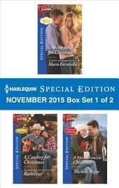 Harlequin Special Edition November 2015 - Box Set 1 of 2: Coming Home for Christmas\A Cowboy for Christmas\A Very Crimson Christmas