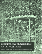 Commissioner of Agriculture for the West Indies
