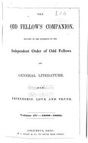 The Odd Fellow s Companion PDF
