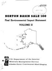 Proposed Norton Basin Lease Sale 100: Final Environmental Impact Statement, Volume 2
