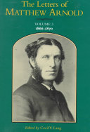 The Letters of Matthew Arnold  1866 1870 PDF