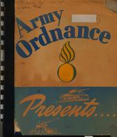 Army Ordnance Presents  Tremendous Trifles  PDF
