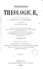 Praelectiones theologicae quas in collegio romano S.J habebat ...