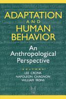 Adaptation and Human Behavior PDF