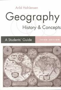 Geography   History and Concepts PDF