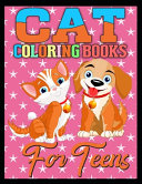 Cat Coloring Books for Teens