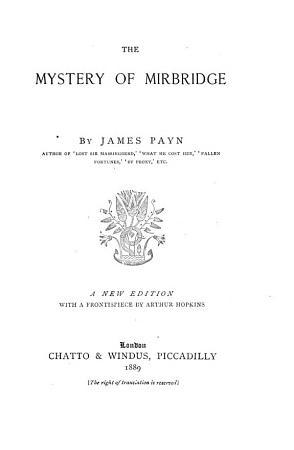 The Mystery of Mirbridge PDF