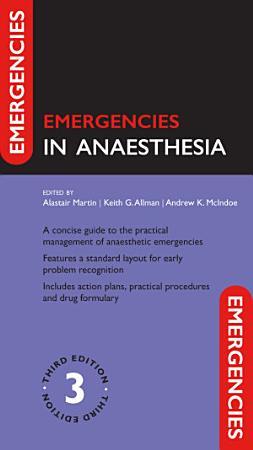 Emergencies in Anaesthesia PDF
