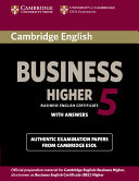 Cambridge English Business 5 Higher Student s Book with Answers PDF