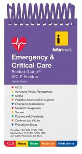 Emergency & Critical Care Pocket Guide: Edition 8