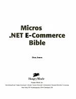 Microsoft? .NET E-Commerce Bible