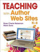 Teaching With Author Web Sites  K   8 PDF