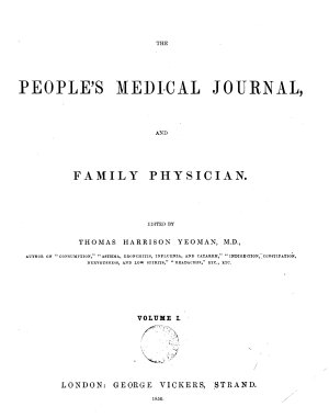 The People s Medical Journal  and Family Physician PDF