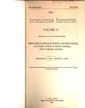 The Southeastern Reporter: Volume 4