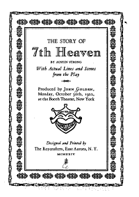 The Story of 7th Heaven Book