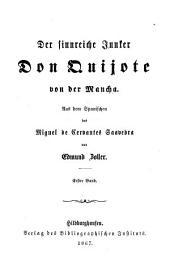 Der sinnreiche Junker Don Quijote von der Mancha: Band 1