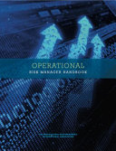Operatonal Risk Manager Certificate Handbook PDF