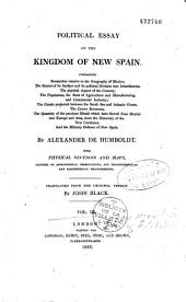 Political essay of the Kingdom of New Spain