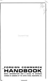 Foreign Commerce Handbook PDF