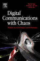 Digital Communications with Chaos PDF