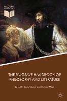 The Palgrave Handbook of Philosophy and Literature PDF