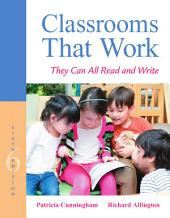 Classrooms That Work: They Can All Read and Write, Edition 6