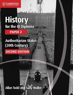 History for the IB Diploma Paper 2 Authoritarian States  20th Century  PDF