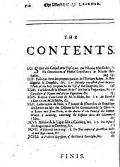 The History of the Works of the Learned, Or, An Impartial Account of Books Lately Printed in All Parts of Europe: Volume 11