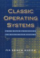 Classic Operating Systems PDF