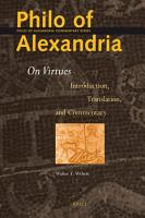 Philo of Alexandria  On Virtues PDF
