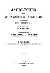 Jahrbücher für Nationalökonomie und Statistik: Band 80