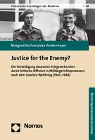 Justice for the Enemy  PDF