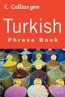 Gem Turkish Phrase Book PDF