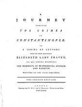 A Journey through the Crimea to Constantinople ... The second edition