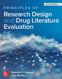 Principles of Research Design and Drug Literature Evaluation  Second Edition PDF