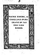 Oratio in laudem urbis Romae