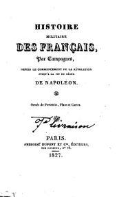 Histoire des guerres de la Vendée depuis 1792 jusqu'en 1796