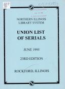 Union List of Serials PDF