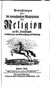 Betrachtungen über die vornehmsten Wahrheiten der Religion [by J.F.W. Jerusalem].