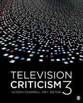 Television Criticism: Edition 3