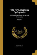 Download The New American Cyclopaedia Book