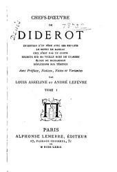 Chefs-d'oeuvre de Diderot,...