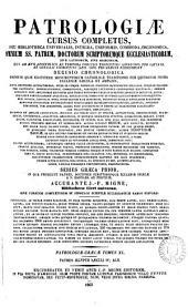 SS Patrum Aegyptiorum opera omnia: praecedunt Philonis Carpasii, Asterii Amaseni, Nemesii Emesemi, Hieronymi Graeci scripta quae supersunt