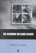 The Raymond Williams Reader
