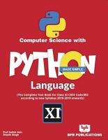 Computer Science With Python Language Made Simple PDF